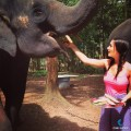 Amy And The Elephant!