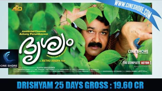 drishyam-25-days-collection
