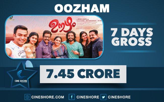 oozham-7-days-collection