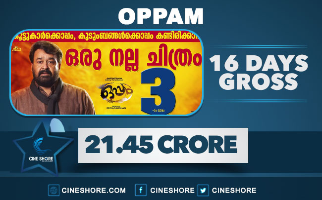 oppam-16-days-collection