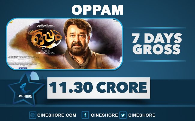 oppam-7-days-collection
