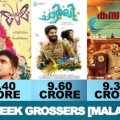 Top 5 First Week Grossers [Malayalam Films]