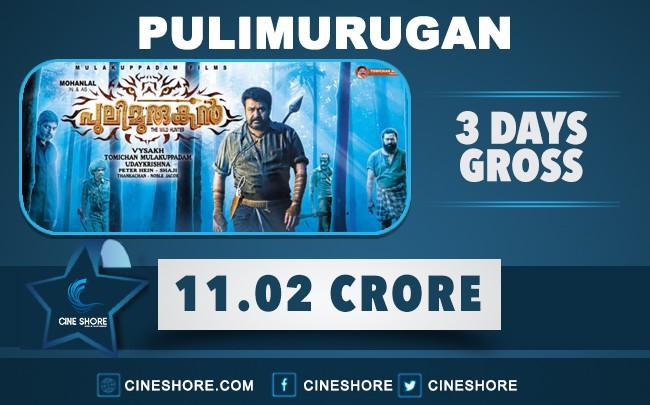 pulimurugan-3-days-collection