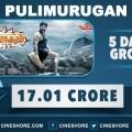pulimurugan-5-days-collection