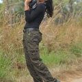 Iddarammayilatho Amala Paul Hot Pics in Black Dress